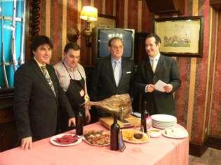 La Casa Vasca ha acogido la degustación del cocido maragato. Foto: Beñat Bustamante.