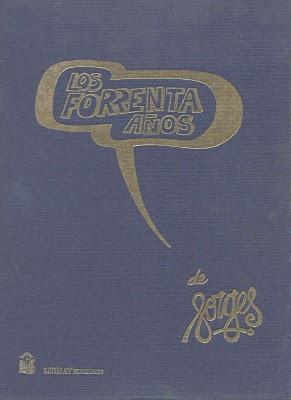 """Portada de """"Los forrenta años"""""""