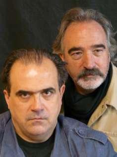 Ricard Borrás (a la izquierda) y Ricardo Joven.