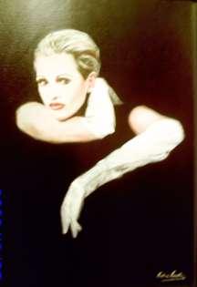Retrato de Ainhoa Arteta.